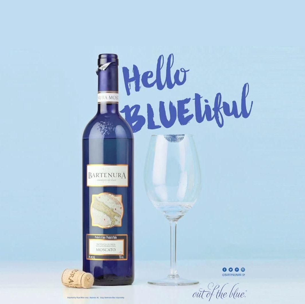 כחול הוא הצבע החם ביותר. וגם הכי טעים!