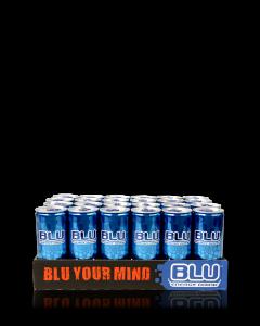 BLU משקה אנרגיה - ארגז 24 פחיות