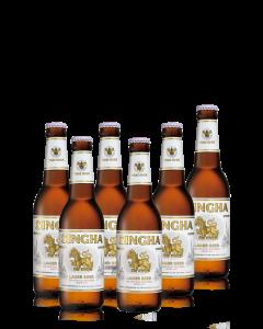 """סינגה בירה תאילנדית - 330 מ""""ל"""
