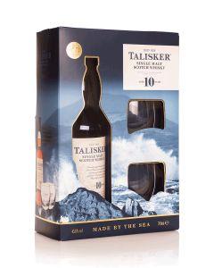 טליסקר 10 שנים + 2 כוסות אריזת מתנה