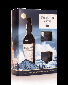 טליסקר 10 שנים +2 כוסות אריזת מתנה