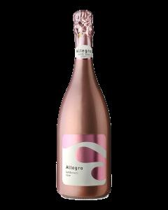 אלגרו למברוסקו- יין רוזה מבעבע חצי יבש