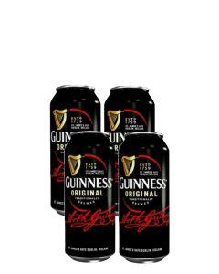 """גינס בירה אירית כהה - פחית 440 מ""""ל"""