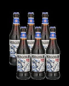 """הובגובלין  רובי בירה אנגלית 500 מ""""ל"""