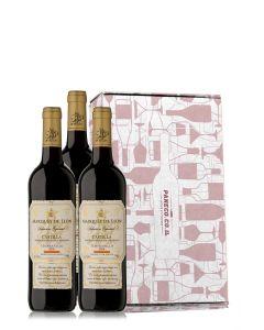 טריו ספרדי יין אדום