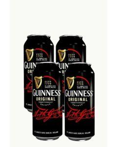 """גינס בירה אירית כהה - פחית 500 מ""""ל"""
