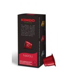 שרוול קפסולות קפה קימבו- דרגת חוזק 10 נאפולי