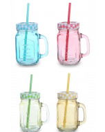 כוס אופנתית לקוקטייל עם קש